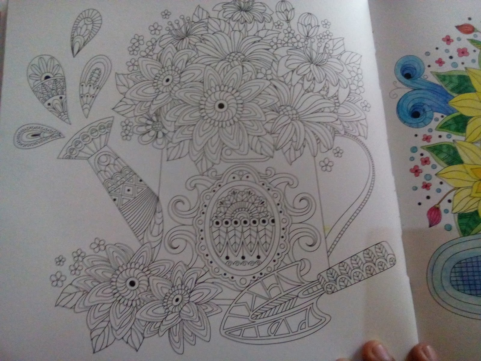 Kertas Yang Digunakan Pada Buku Ini Cukup Baik Saya Masih Bisa Menggunakan Water Color Di Atasnya