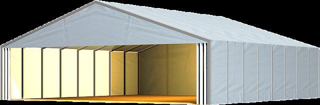 Partisi R8 | Pembuatan Bangunan Darurat Tenda Roder