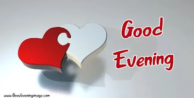 Good Evening heart pictures Images