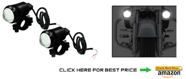 Bike projector light guide