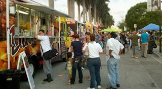 Food Trucks en Miami, comida venezolana