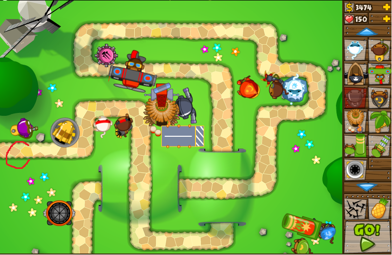 Monkey Tower Defense 5