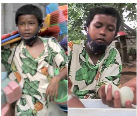 """Batang breadwinner, """"Double Job"""" para maipagamot at buhayin ang magulang at pamilya"""