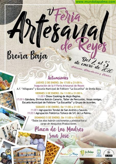 BREÑA BAJA: V Feria Artesanal de Reyes
