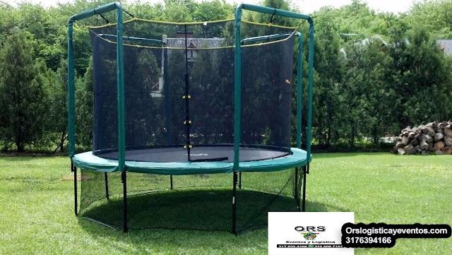 alquiler camas elasticas trampolines bogota