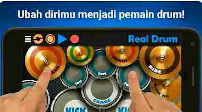 Aplikasi Drum Terbaik - Real Drum