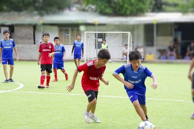 Lớp học bóng đá trẻ em quận Tân Bình TPHCM