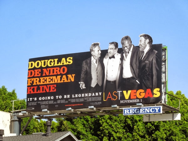 Last Vegas special extension movie billboard