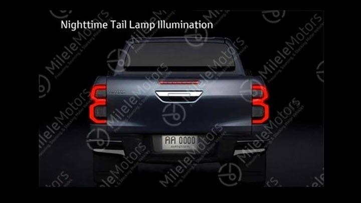 Toyota Hilux lộ thiết kế bản nâng cấp, phần đầu xe gây ấn tượng mạnh vì sự đột phá