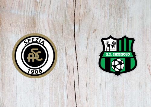 Spezia vs Sassuolo -Highlights 27 September 2020