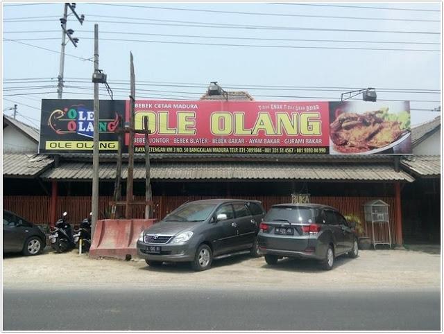 Restoran Bebek Ole Olang;10 Tempat Kuliner Populer di Madura