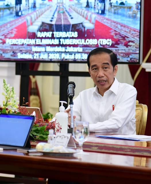 Jokowi Ingin Pengurangan Penyakit TBC Mereplikasi Model Penanganan COVID-19