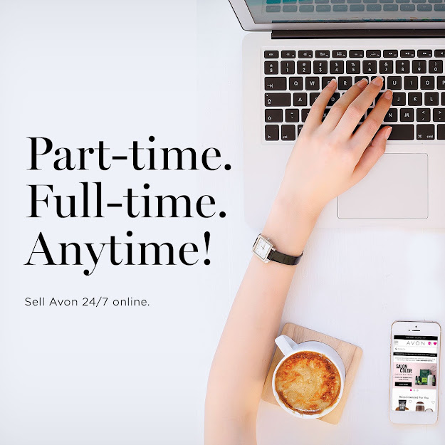 PART-TIME FULL-TIME ANYTIME -- SELL AVON 24/7