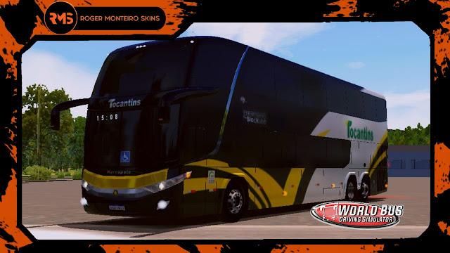 Tocantins Transporte e Turismo, Skins World Bus, Skins Wbds, Wbds, Ônibus