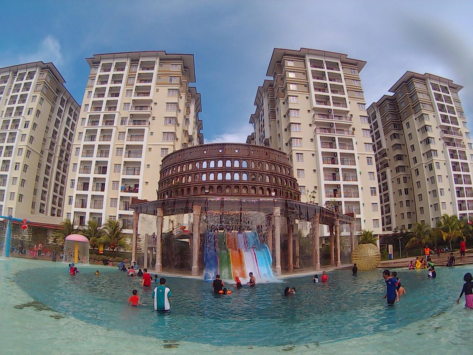 Kami Berjalan Bayou Lagoon Park Resort Melaka