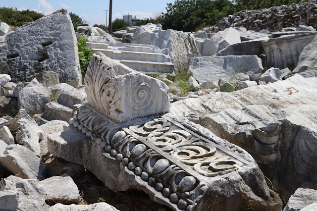 Piecing together fragments of Hadrian's Temple in ancient Kyzikos