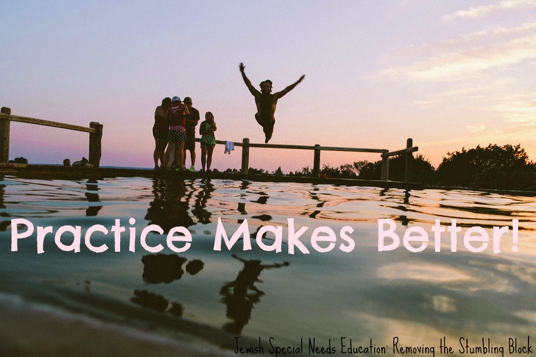 Practice makes better; Removing the Stumbling Block