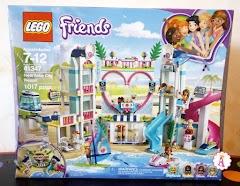 Распаковка LEGO Friends Heartlake City Resort 41347: конструктор аквапарк для девочек