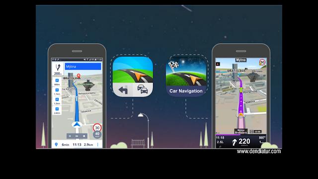 Aplikasi map dan navigation android terbaik urutan ke 3