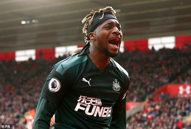 'Zero chance of seeing Saint-Maximin leave' – Bruce promises to keep PSG focus at Newcastle.