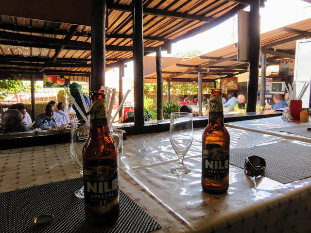 Bottles of Nile Beer in Entebbe, Uganda