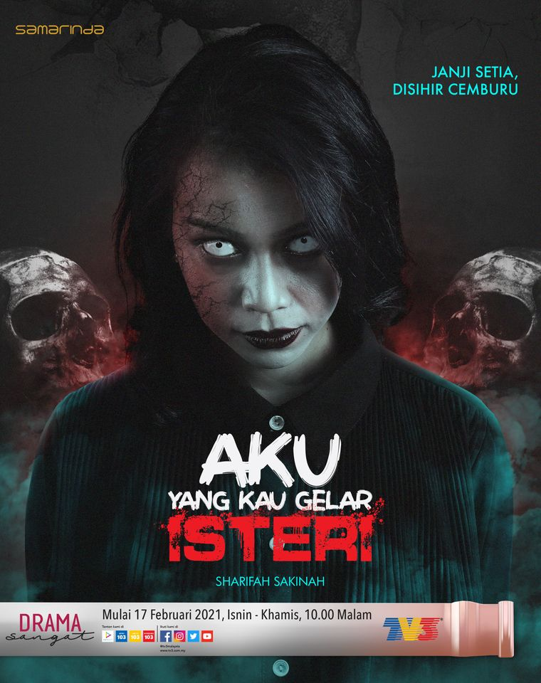 Aku Yang Kau Gelar Isteri, Drama Seram di Slot Samarinda TV3