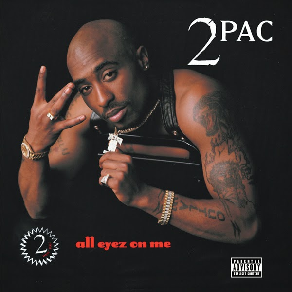 2Pac - All Eyez On Me (Remastered)  Cover