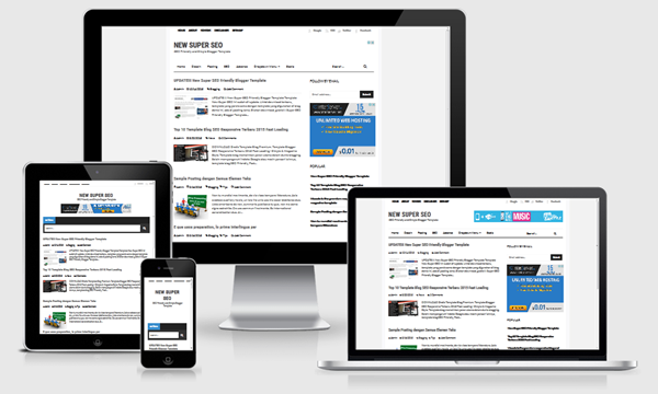 Super SEO Blogger Template Download Free