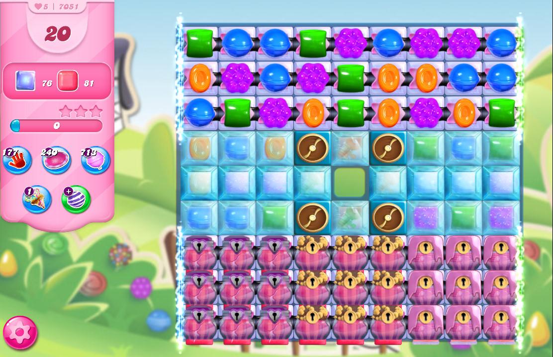 Candy Crush Saga level 7051