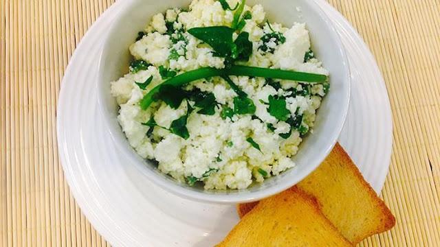 Receita de Patê de Tofu com Espinafre | Blog Vida Saudável