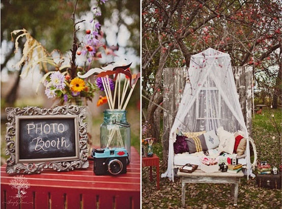 Wedding Reception Photo Booth Ideas