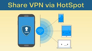 Share Android VPN Internet Connection
