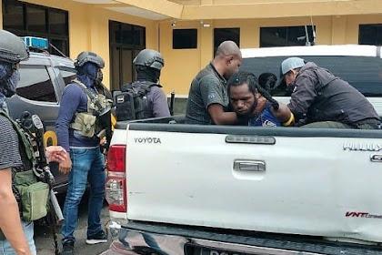 Satgas Nemangkawi Tangkap Anggota Teroris OPM kelompok Terinus Enumbi