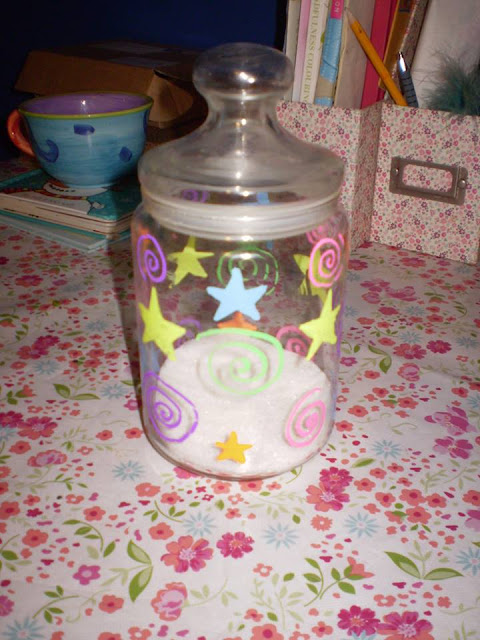 My Star and Spiral Jar