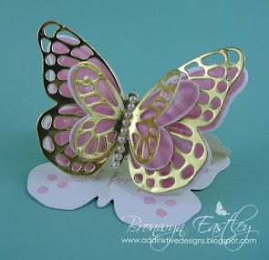 Bold Butterfly Easel Card Tutorial