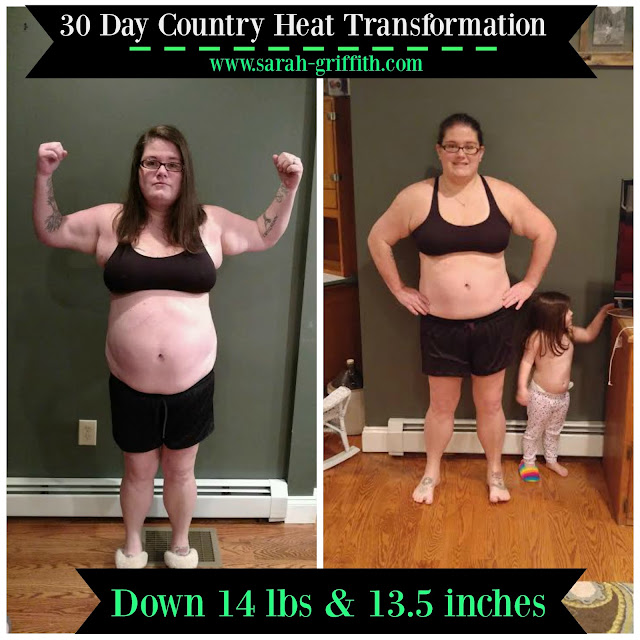 Country Heat, Womens Country Heat results, country heat meal plan, womens country heat transformation, womens weight loss, sarah griffith, top beachbody coach,