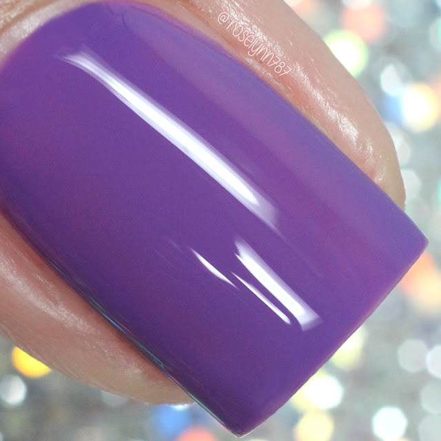 Turtle Tootsie Polishes - Purple Ranger