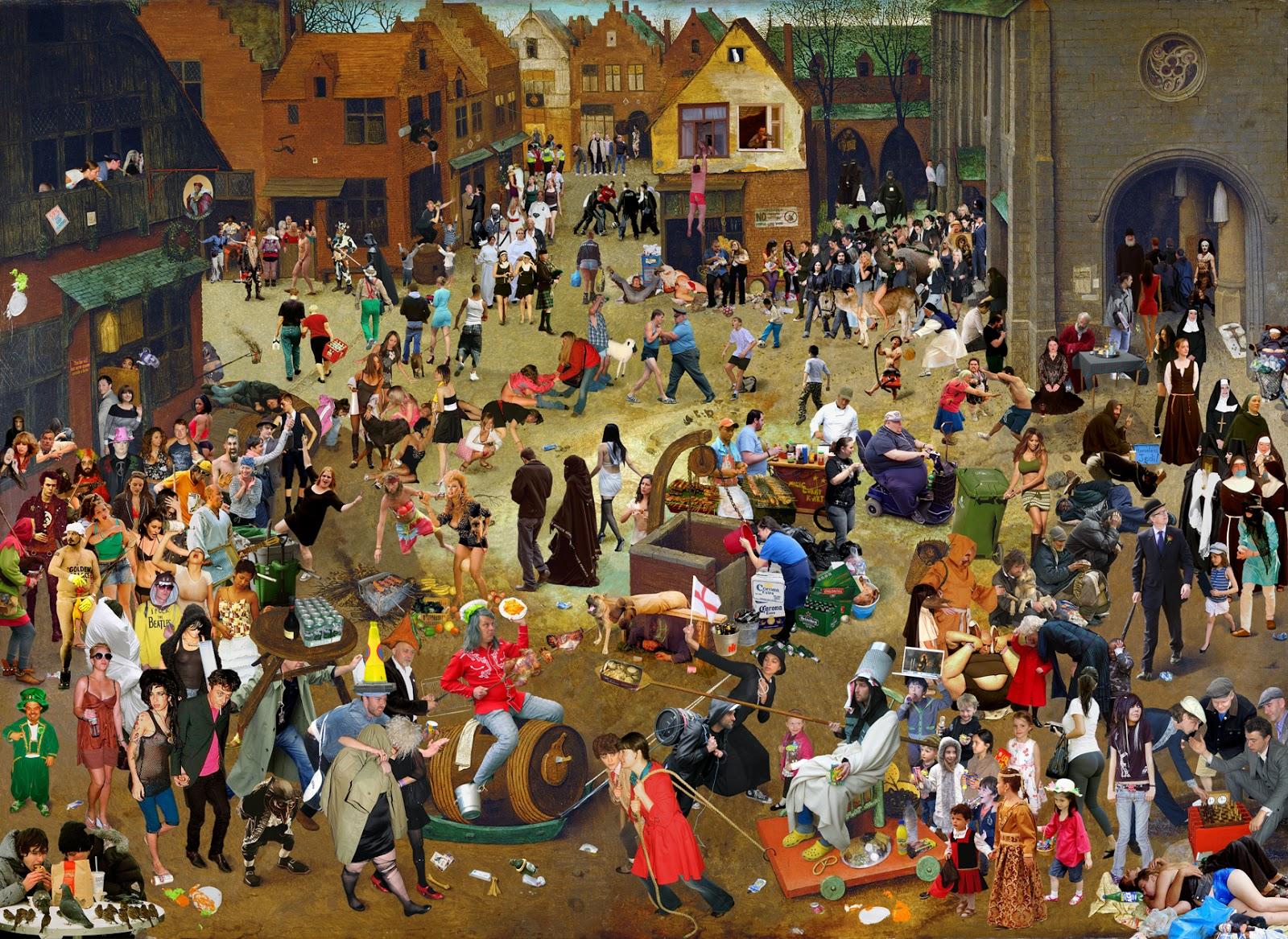 картинки средневековых карнавалов
