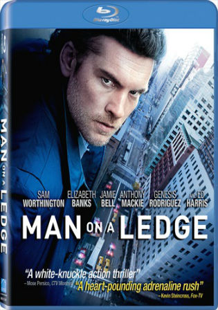 Man on a Ledge 2012 BRRip 350MB Hindi Dual Audio 480p Watch Online Full Movie Download bolly4u