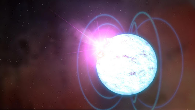 Astronomers find the first 'wind nebula' around a magnetar
