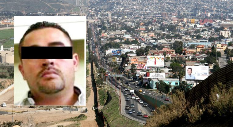 El lider de la células más violenta del CAF que llenó a Tijuana de balas y muerte.