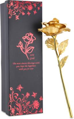 valentine day - Golden Flower Gift Box In Just Rs.99 From Flipkart