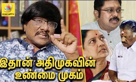 Manushya Puthiran slams ADMK factions