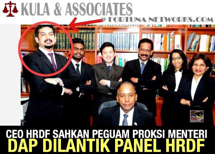 Menteri DAP@Kulasegaran Nafi,Tetapi CEO HRDF Sahkan Firma Guaman 'Anak Didik Kula' Dilantik Peguam di HRDF