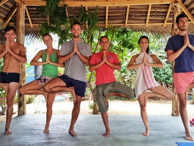 Teaching Yoga in Sri Lanka