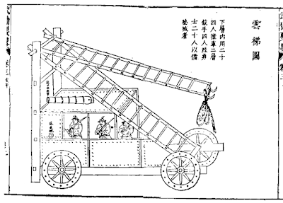 Ming Dynasty Cloud Ladder