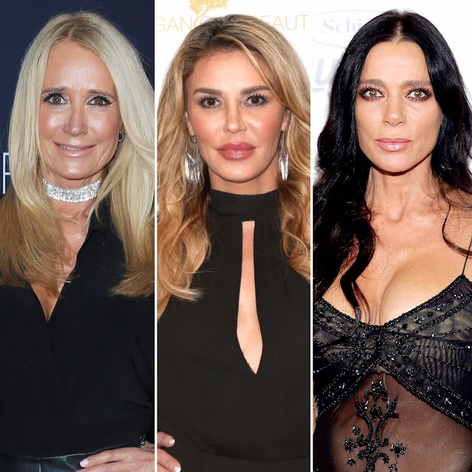 Brandi Glanville Allegedly Hooked Up With Her Former 'RHOBH' Co-Stars Carlton Gebbia And Kim Richards — Brandi Shuts Down 'Threesome' Rumors; Says 'I Have NEVER Had A Threesome With Kim' (UPDATED)