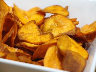 Moniato chips
