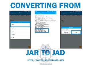 Jar to Jad