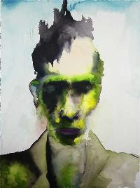 The Enabler, pintura de Marilyn Manson.